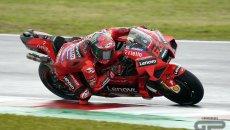 MotoGP: Dominio Ducati a Misano: pole di Bagnaia su Miller e Marini! Quartararo 13°