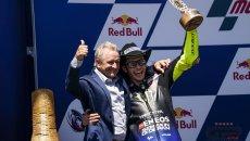 """MotoGP: Schwantz: """"Rossi continuerà a dominare la MotoGP anche dagli spalti"""""""