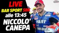 SBK: LIVE Bar Sport SBK alle 13:45 - Niccolò Canepa e il tango argentino