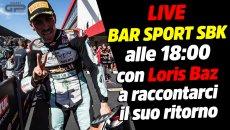 SBK: LIVE Bar Sport SBK alle 18:00: Loris Baz ci racconta il ritorno nel mondiale