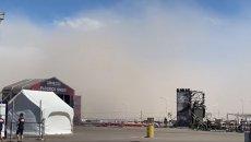 SBK: San Juan: una tempesta di sabbia spaventa la Superbike