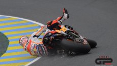 Magic Marquez at Le Mans like Sisyphus: I don't give up, therefore I am