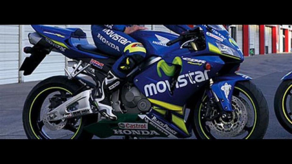 Moto - News: Honda CBR 600 RR Movistar