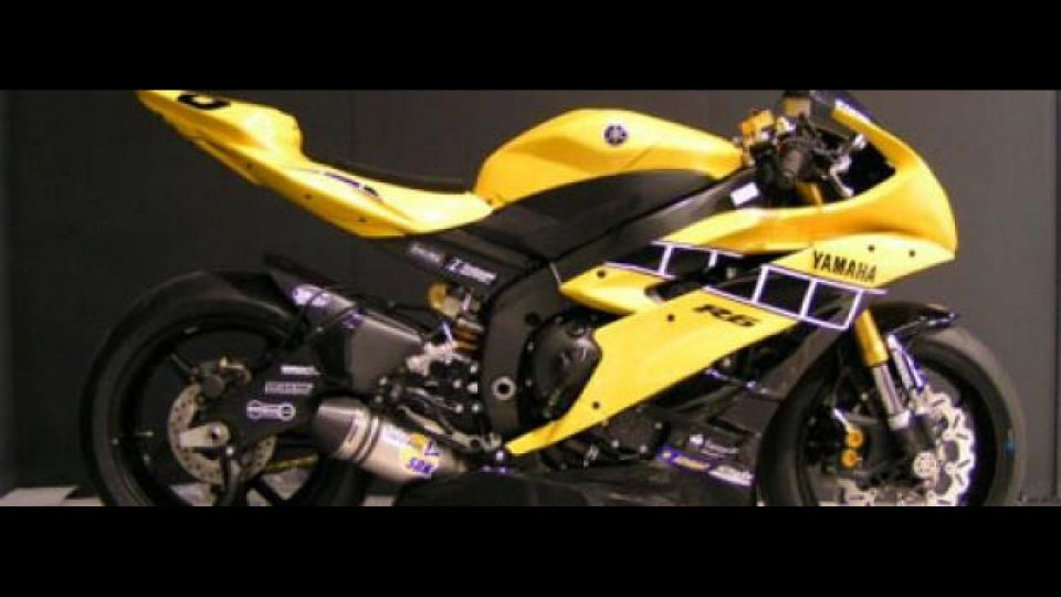 Moto - News: Yamaha R6 Cup