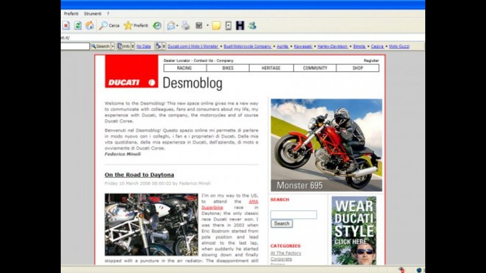 Moto - Gallery: Via al DesmoBlog