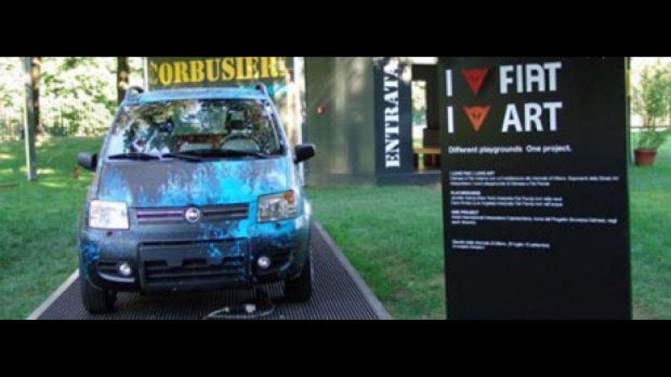 Moto - News: Dainese e Fiat alla Triennale