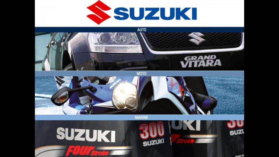Moto - Gallery: Tutto nuovo Suzuki.it