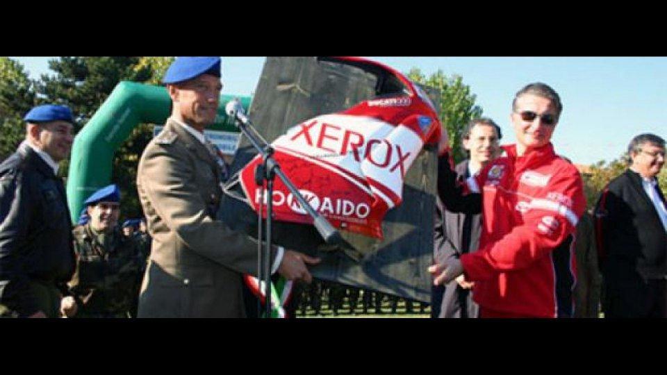 Moto - News: Ducati & Brigata Friuli