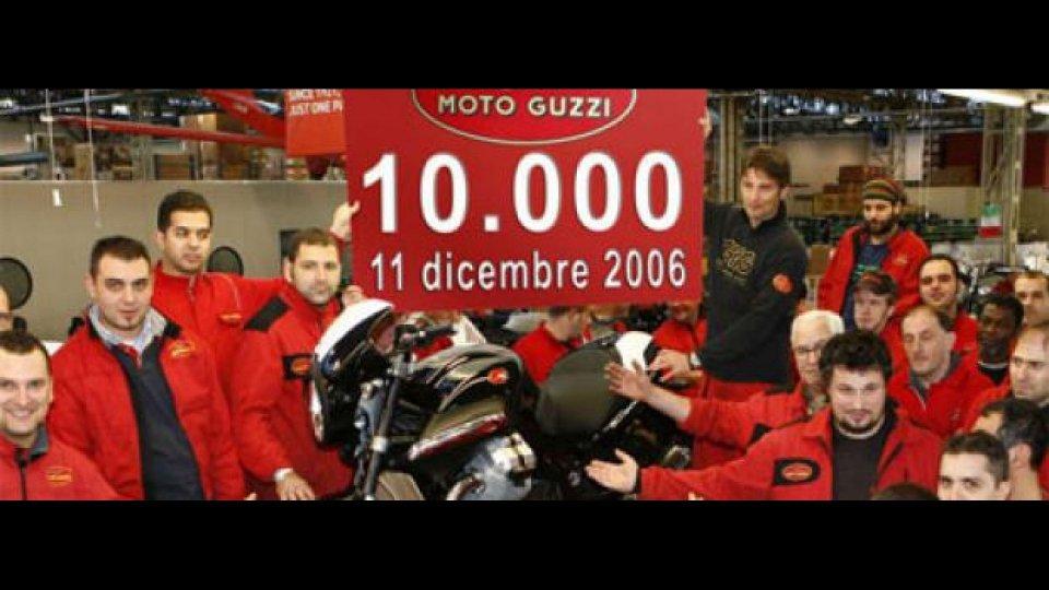 Moto - News: Moto Guzzi: 2006 da record!