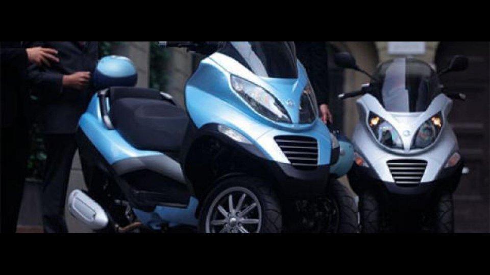Moto - News: Piaggio MP3 125