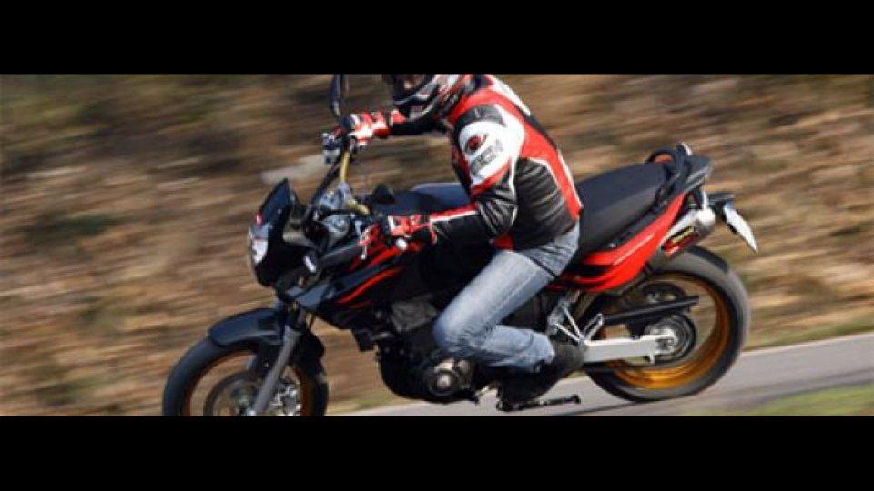 Moto - News: Aprilia Pegaso Factory - TEST