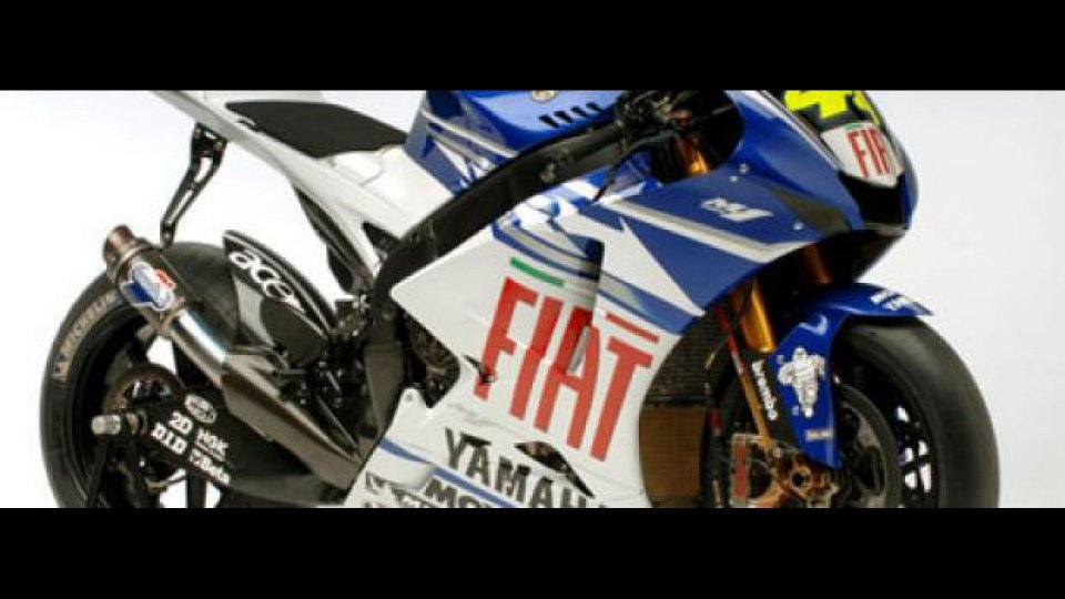 Moto - News: Fiat Yamaha Team
