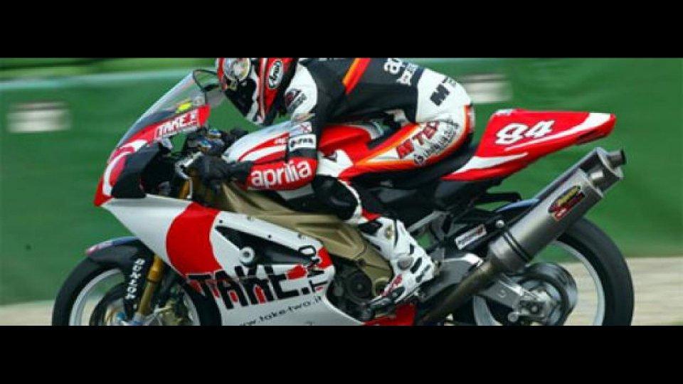 Moto - News: 2007: Samu De Nardi in Aprilia