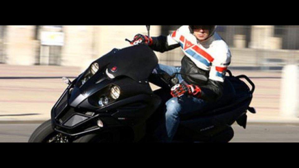 Moto - News: Gilera Fuoco 500 - TEST