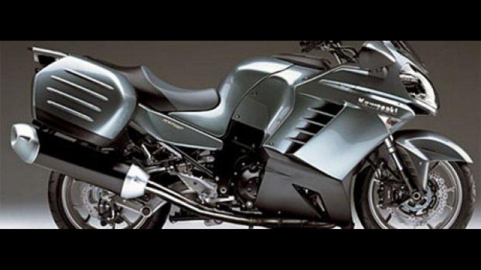 Moto - News: Kawasaki GTR 1400
