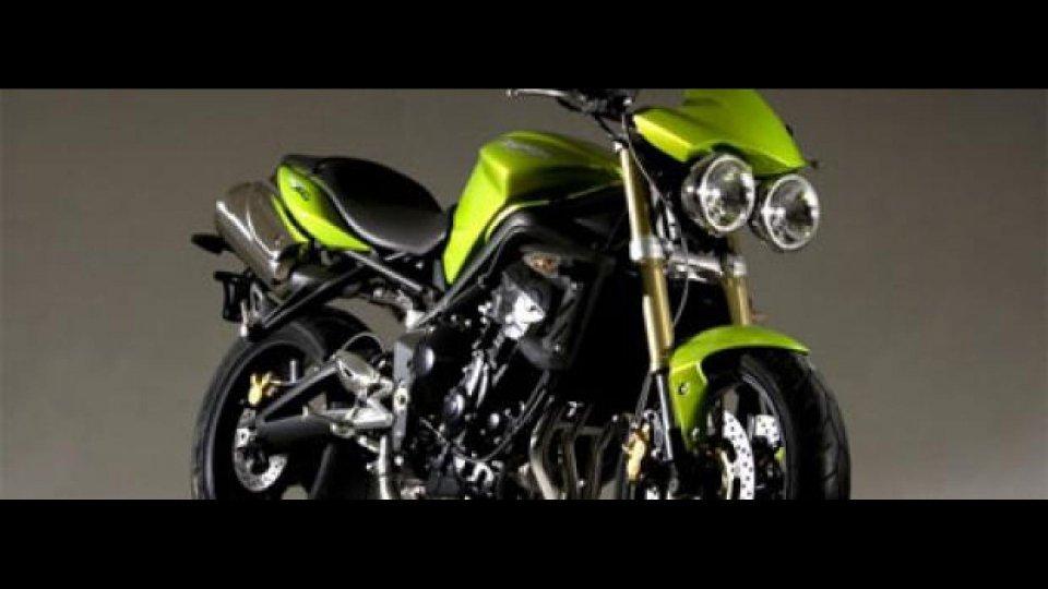 Moto - News: Triumph Street Triple 675