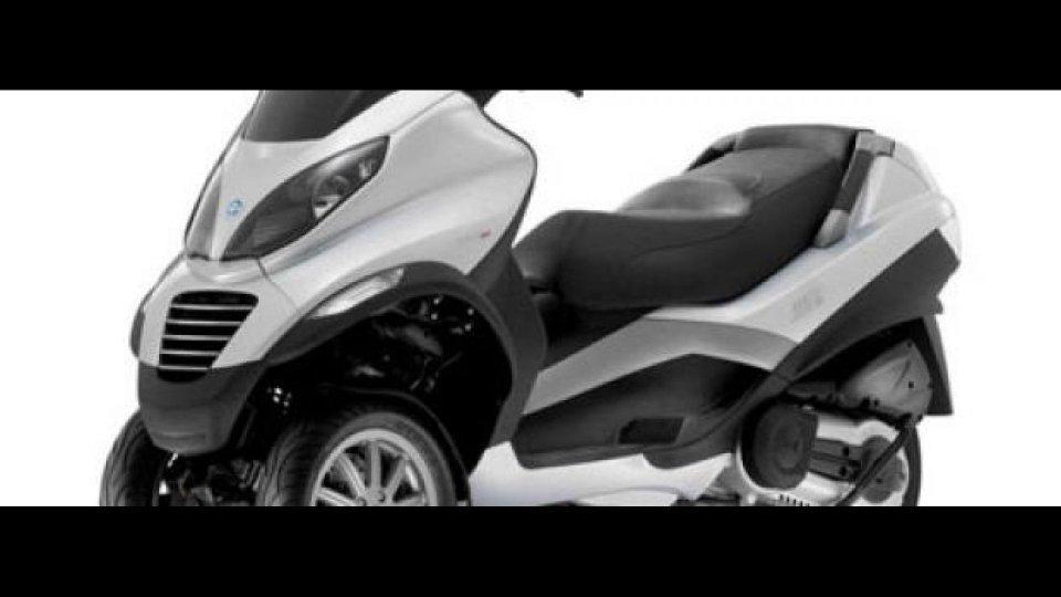 Moto - News: Piaggio MP3 400