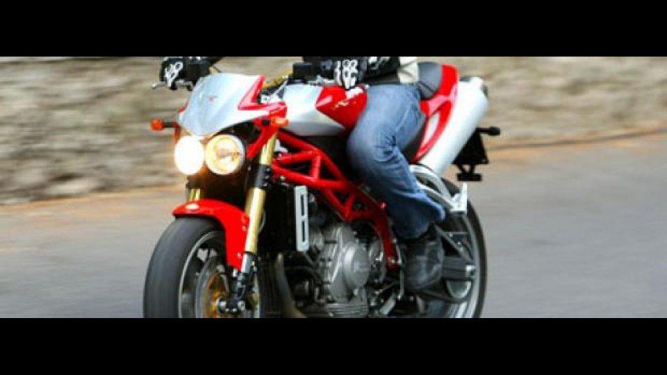 Moto - News: Moto Morini Corsaro 2007 - TEST