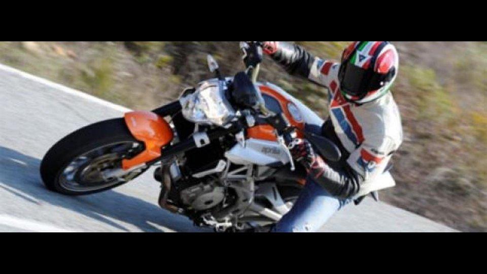 Moto - News: Aprilia Shiver 750 2008 - TEST