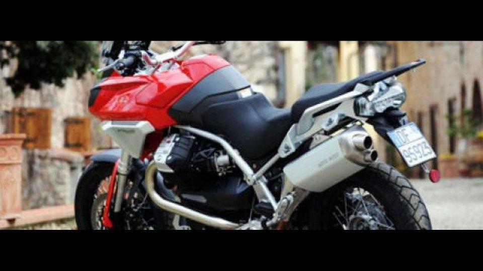 Moto - News: Moto Guzzi Stelvio 2008 - TEST