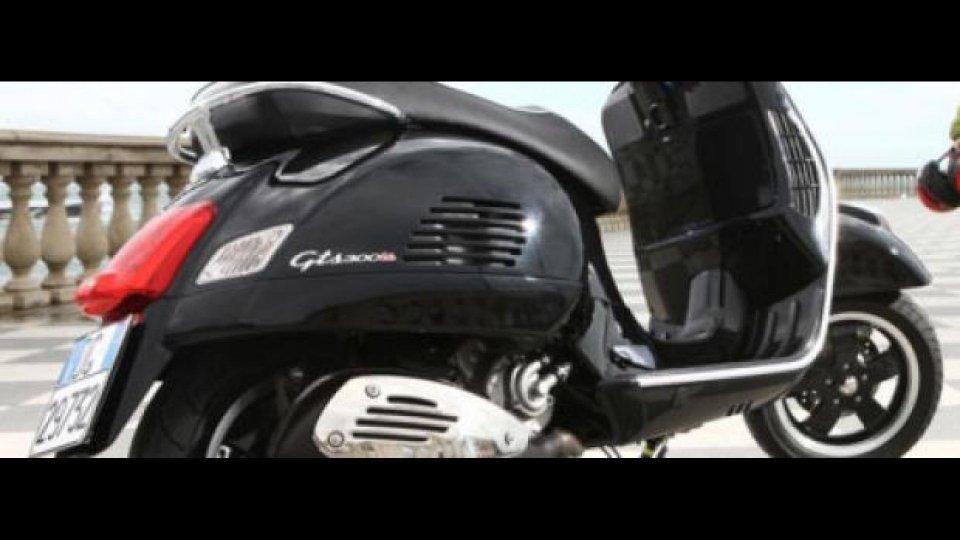 Moto - Test: Vespa GTS 300 Super - TEST