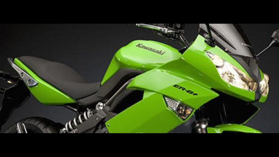 Moto - News: nuova Kawasaki ER-6f 2009