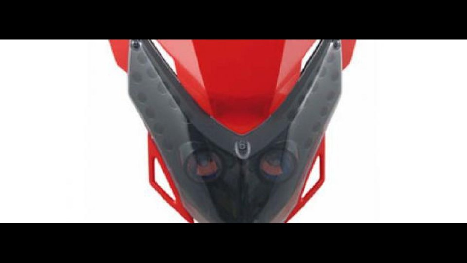 Moto - News: Mascherina Acerbis Led Vision