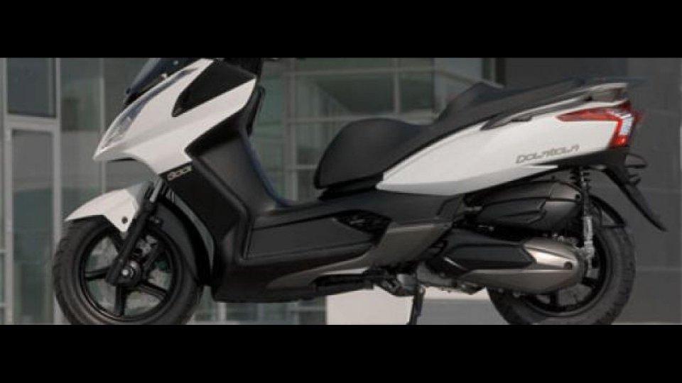 Moto - News: Kymco Downtown 300