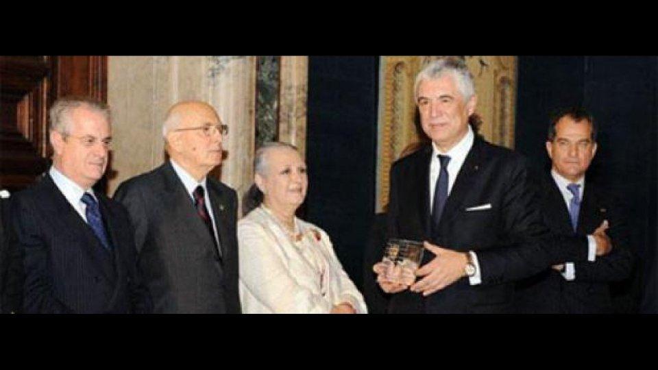 """Moto - News: A Del Torchio il premio """"Leonardo Qualità Italia"""""""