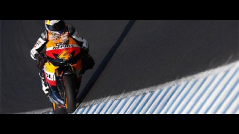 Moto - News: Test Jerez: neoufficiali in difficoltà?