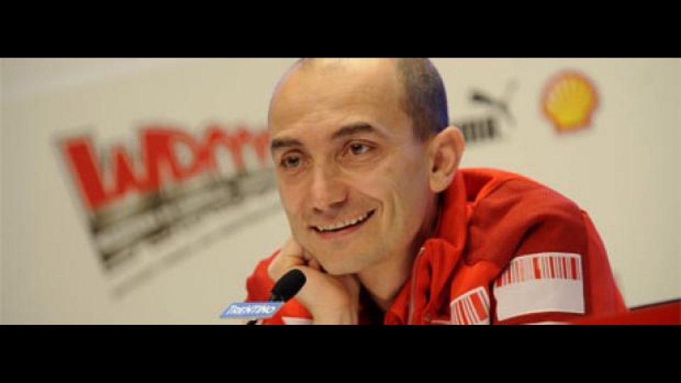 Moto - News: Claudio Domenicali al Wroom 2009