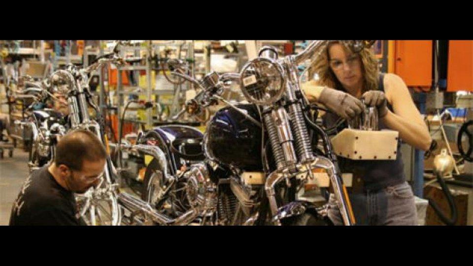 Moto - News: Harley Davidson taglia 1.100 posti di lavoro