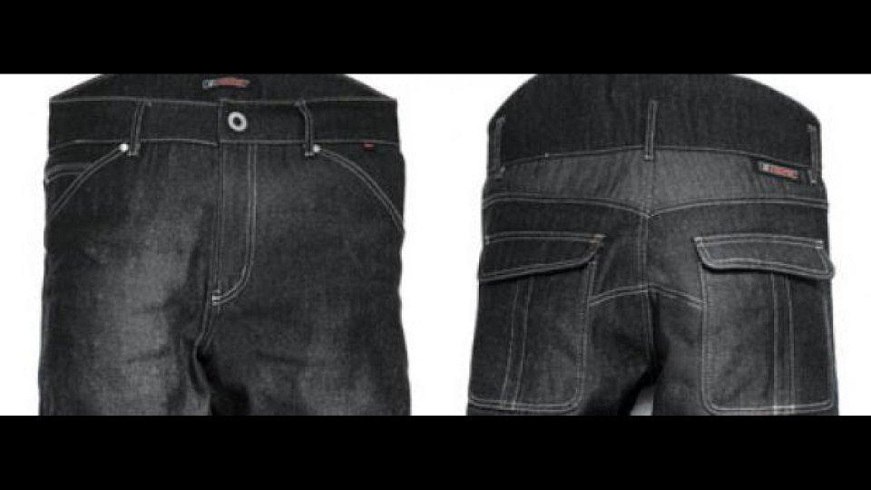 Moto - News: Jeans Esquad E-Strong Denim Black
