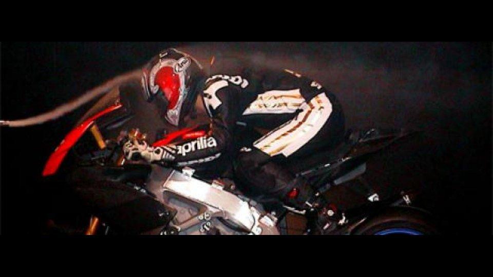 Moto - News: Aprilia RSV4: test aerodinamici con Nakano