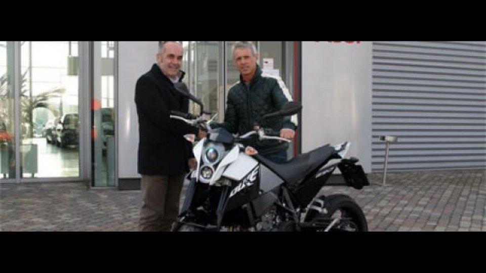 Moto - News: Una KTM 690 Duke per Dindo Capello