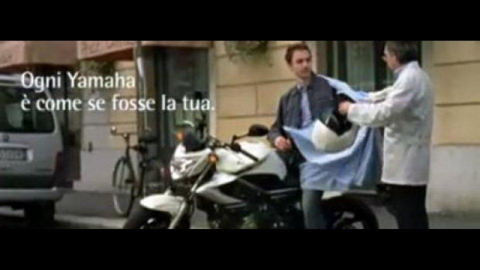 Moto - News: Yamaha torna in TV con uno spot d'autore