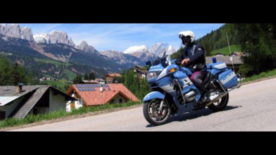 Moto - News: Anche la Polizia di Stato rischia sulle strade