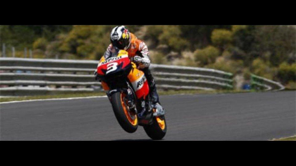 Moto - News: MotoGP 2009, Mugello: Dani Pedrosa