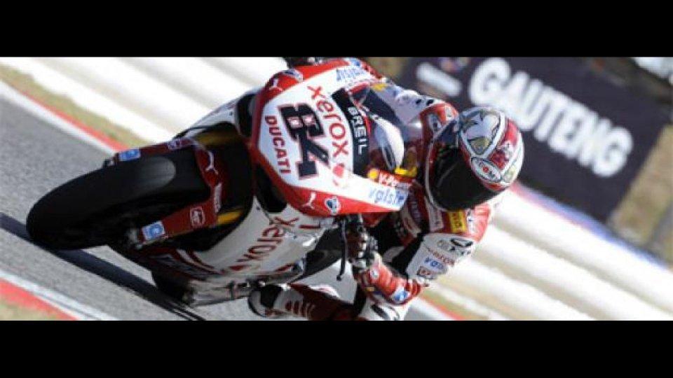 Moto - News: WSBK 2009, Kyalami, Q1: Fabrizio davanti