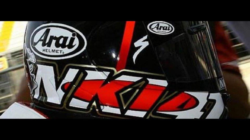 Moto - News: Arai Haga Monza Limited Edition: il casco di Nitronori