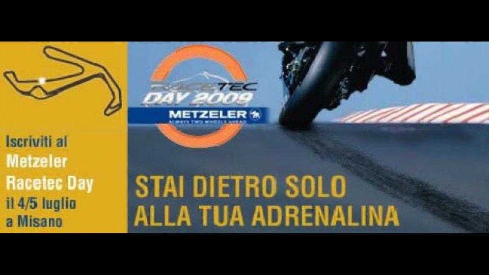 Moto - News: Metzeler Racetec Day 2009 a Misano