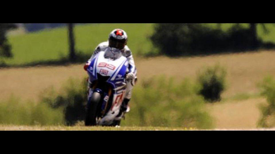 Moto - News: MotoGP 2009, Mugello: Lorenzo a podio