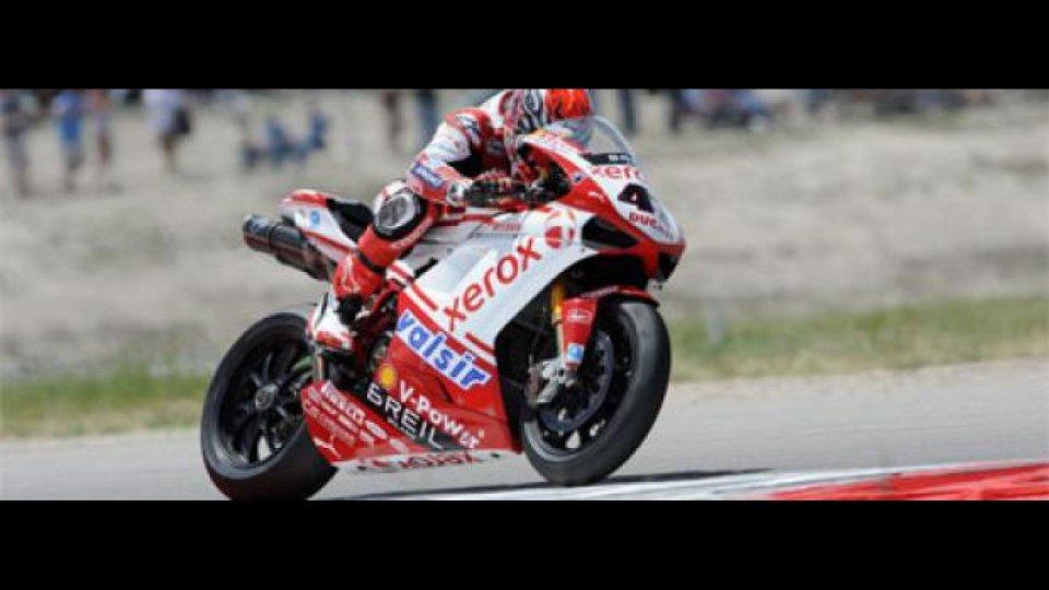 Moto - News: WSBK 2009, Miller: ombre e luci per Ducati