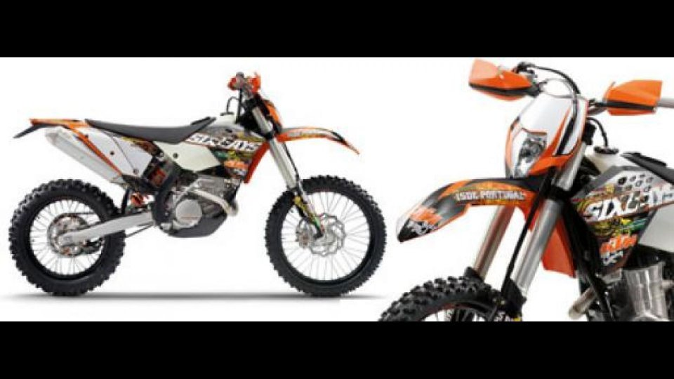 Moto - News: KTM Six Days Limited Edition 2010