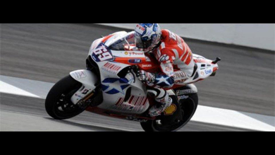 Moto - News: MotoGP 2009, Indianapolis: finalmente Hayden