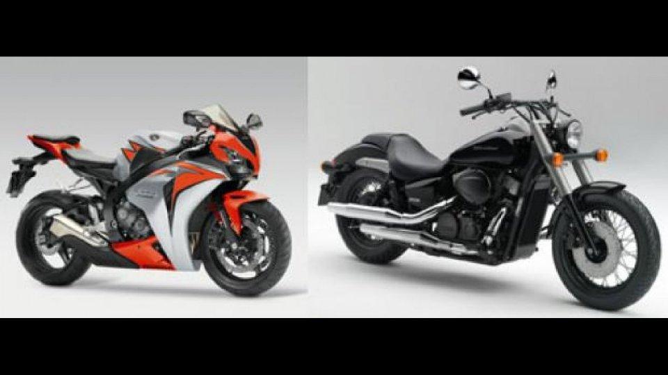Moto - News: Anteprima novità Honda 2010