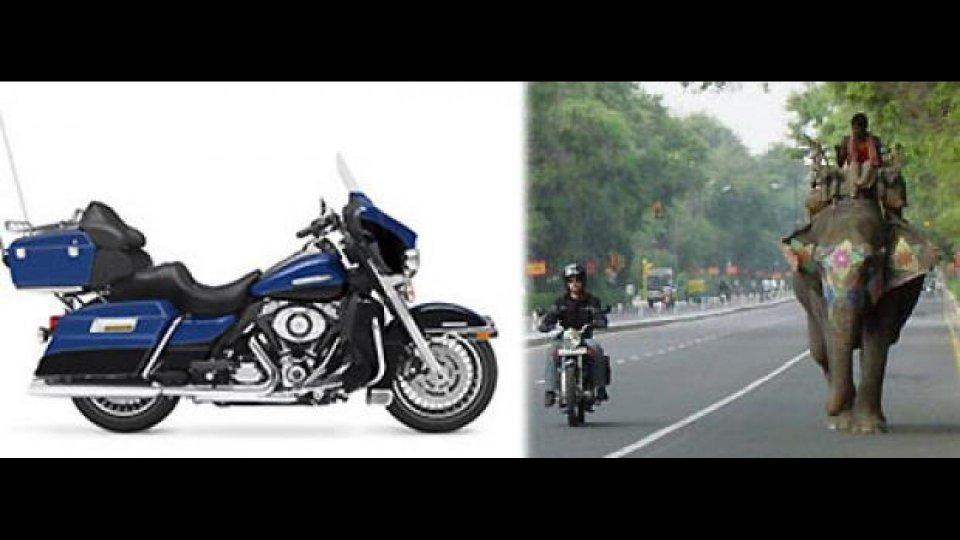 Moto - News: Harley-Davidson si espande in India