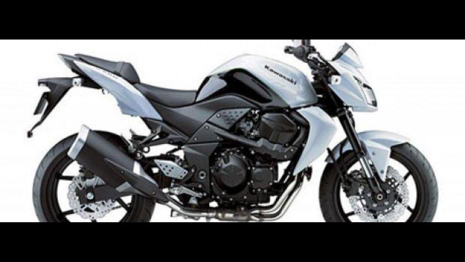 Moto - News: Kawasaki Z750 2010