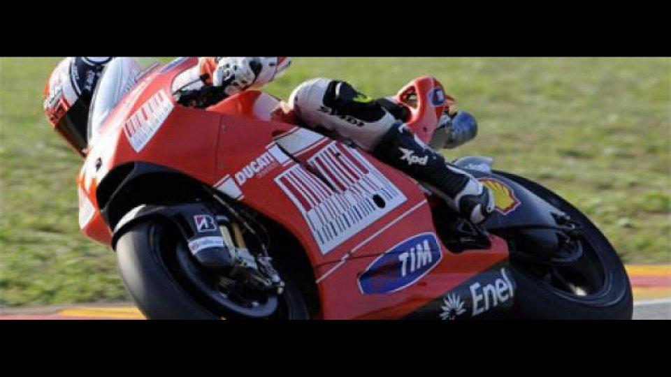Moto - News: Mattia Pasini sulla Ducati GP9 al Mugello