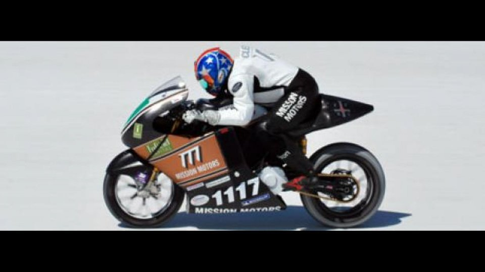 Moto - News: Mission One da record a oltre 259 kmh